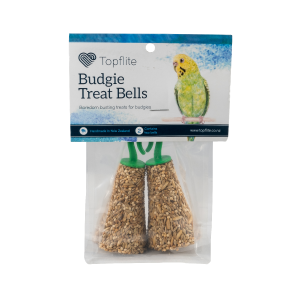 Topflite  Twin Pack Budgie Bells