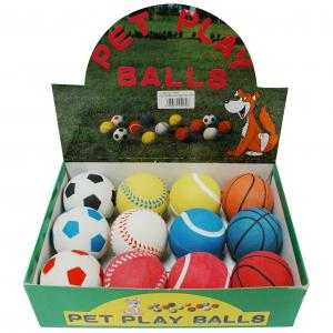 Yours Droolly  Playmates Sponge Sport Ball