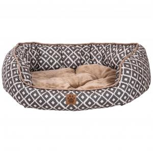 IKAT Snoozzy Ikat Daydreamer Bed Grey LARGE