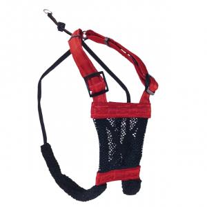 Sporn  Non-pull Mesh Harness Black Black LARGE