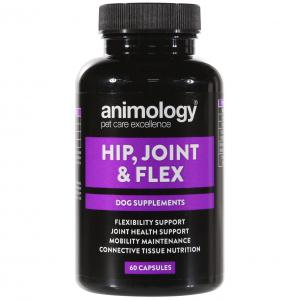 ANIMOLOGY  Hip Joint & Flex Supplement 60 Capsules