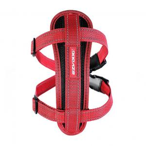 Ezydog  Chest Plate Harness Red X SMALL