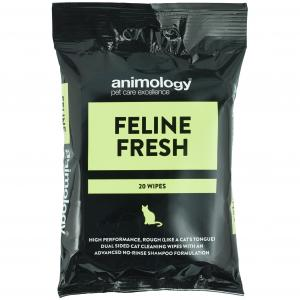 ANIMOLOGY  Feline Fresh Wipes 20 Pack