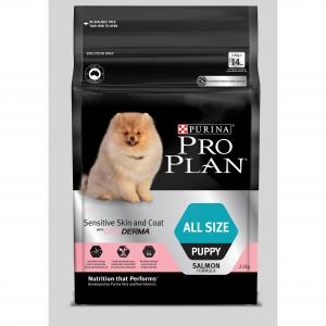 Pro Plan  All Size Puppy Salmon Dry Sensitive Skin & Coat