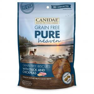 Canidae  Pure Heaven Grain Free Biscuits Duck & Chickpea Dog 312g