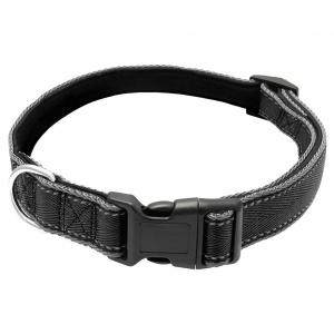 LEXI & ME  Nylon Dog Collar Black X LARGE