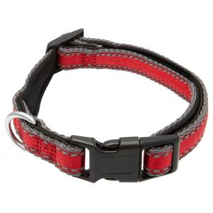 LEXI & ME  Nylon Dog Collar Red SMALL