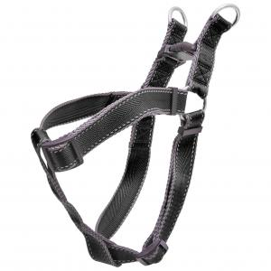 LEXI & ME  Nylon Adjustable Harness Black LARGE