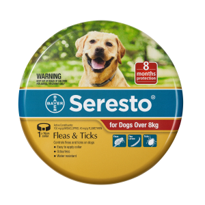 SERESTO  Dog Flea Collar (8kg+) 1 pack