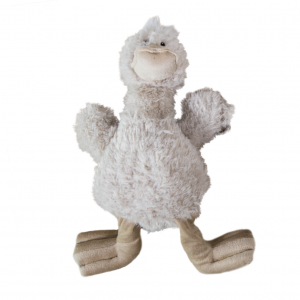 Yours Droolly  Cuddlies Fluffy Duck 33cm
