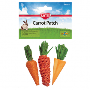 KT Kaytee Carrot Patch Chew Toys