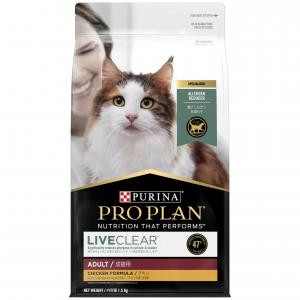 Pro Plan  Live Clear Adult Chicken Cat Food