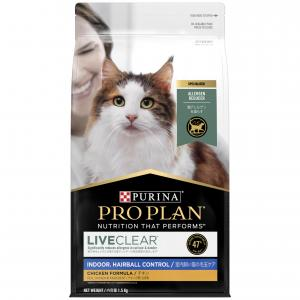 Pro Plan  Live Clear Adult Indoor/hairball Control Cat Food