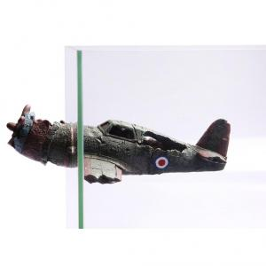 Aqua One  Ornament Magnetic Wrecked Bomber