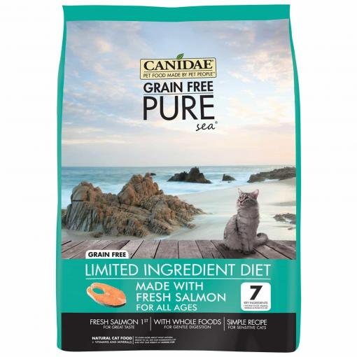 Canidae CANIDAE - Grain Free PURE SEA Salmon Adult Cat Dry Food thumbnail
