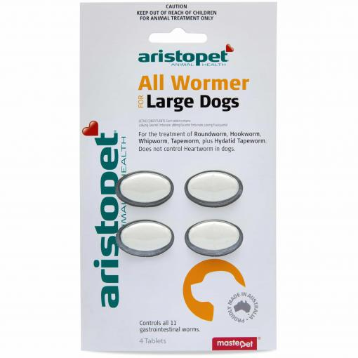Aristopet Aristopet - AllWormer for Large Dogs thumbnail