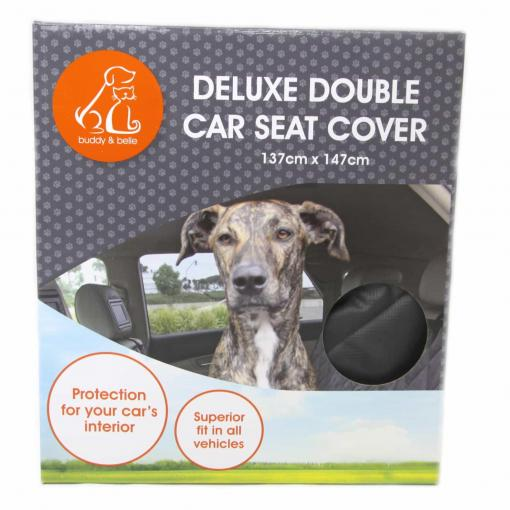 Buddy & Belle Buddy & Belle Deluxe Double Car Seat Cover thumbnail