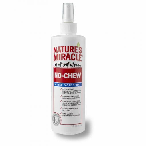 Natures Miracle Nature's Miracle No Chew Bitter Taste Spray 236ml thumbnail