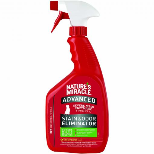 Natures Miracle Nature's Miracle Cat Advanced Stain & Odour Remover 946ml thumbnail
