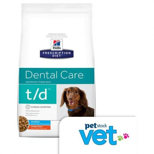 Hill's VET Hill's Prescription Diet Canine - T/D Small Bites thumbnail