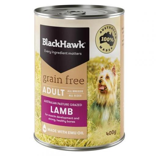 Black Hawk Black Hawk Dog Grain Free Lamb Can thumbnail