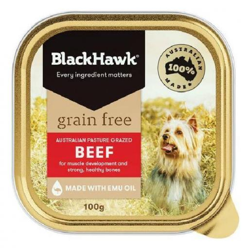Black Hawk Black Hawk Dog Grain Free Beef Can thumbnail