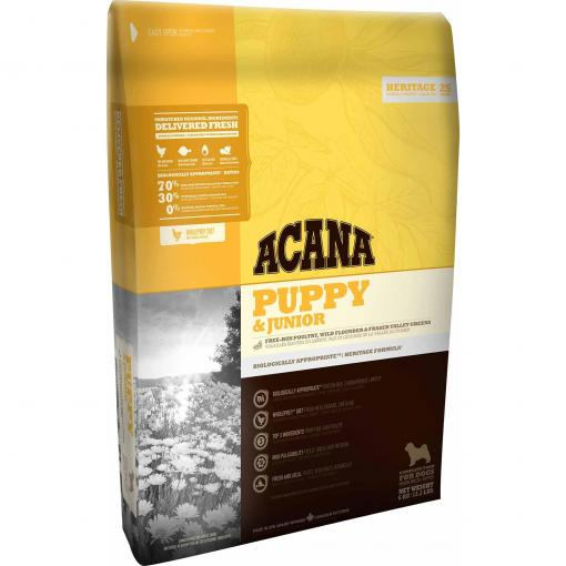 Acana Acana Heritage Puppy & Junior Dry Dog Food thumbnail