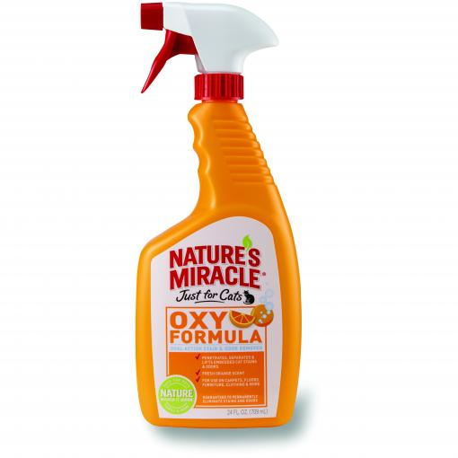 Natures Miracle Nature's Miracle Oxy Orange Just For Cats 709ml thumbnail