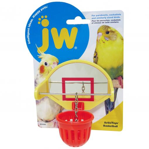 JW JW Insight Birdie Basketball Bird Toy - Assorted Colours thumbnail