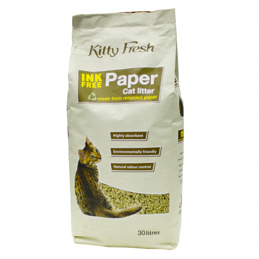 Kitty Fresh Kitty Fresh Ink-Free Paper Litter thumbnail
