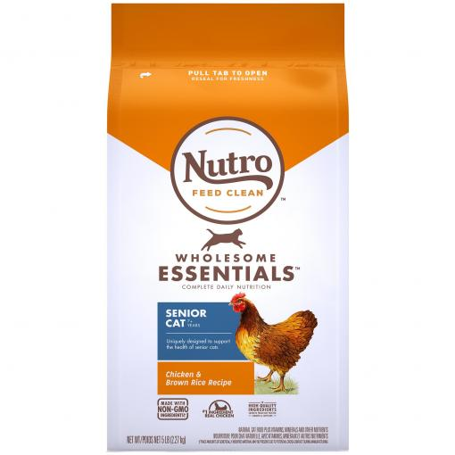 Nutro Nutro Wholesome Essentials Indoor/Senior Chicken & Rice Dry Cat Food thumbnail