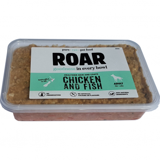 ROAR PETFOODS ROAR Raw Chicken & Fish Frozen Dog Food thumbnail