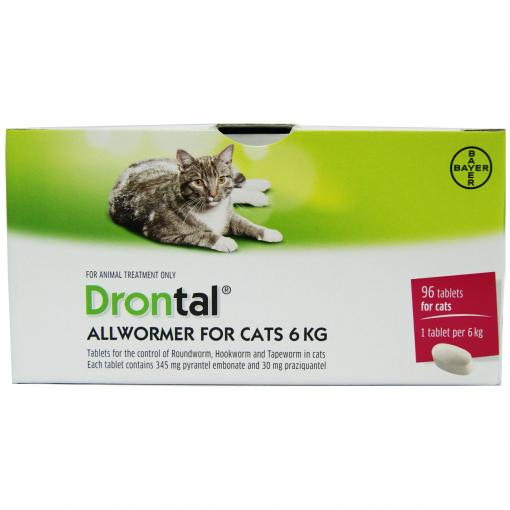 Drontal Drontal All Wormer Single Cat Tablet thumbnail