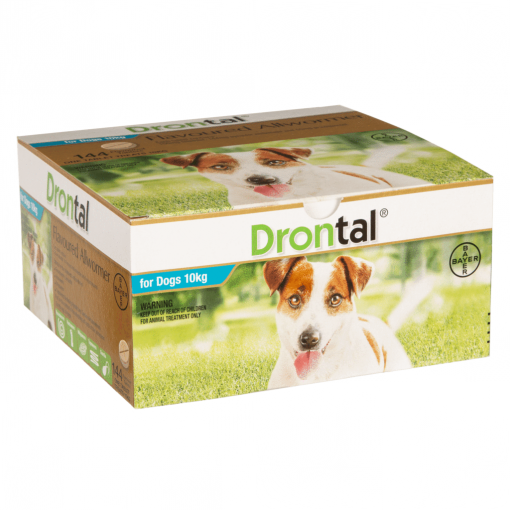 Drontal Drontal All Wormer Single Dog Tablet thumbnail