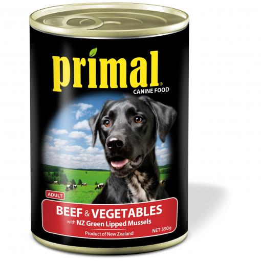 Primal Primal Dog Beef & Vegetables thumbnail