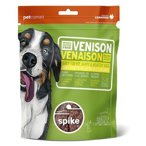 SPIKE SPIKE Grain Free Venison Jerky For Dogs thumbnail
