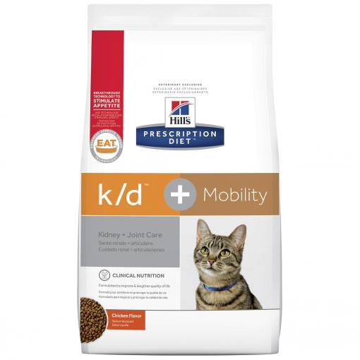 Hill's VET Hill's Prescription Diet K/D P lus Mobility Feline thumbnail