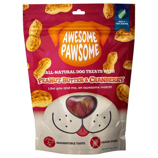 AWESOME PAWSOME Awesome Pawsome Peanut Butter & Cranberry Dog Treats thumbnail