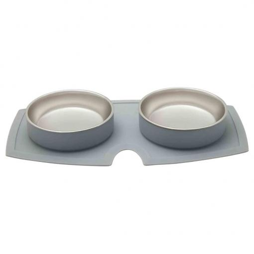 Buddy & Belle B&B Double Silicone Bowls thumbnail