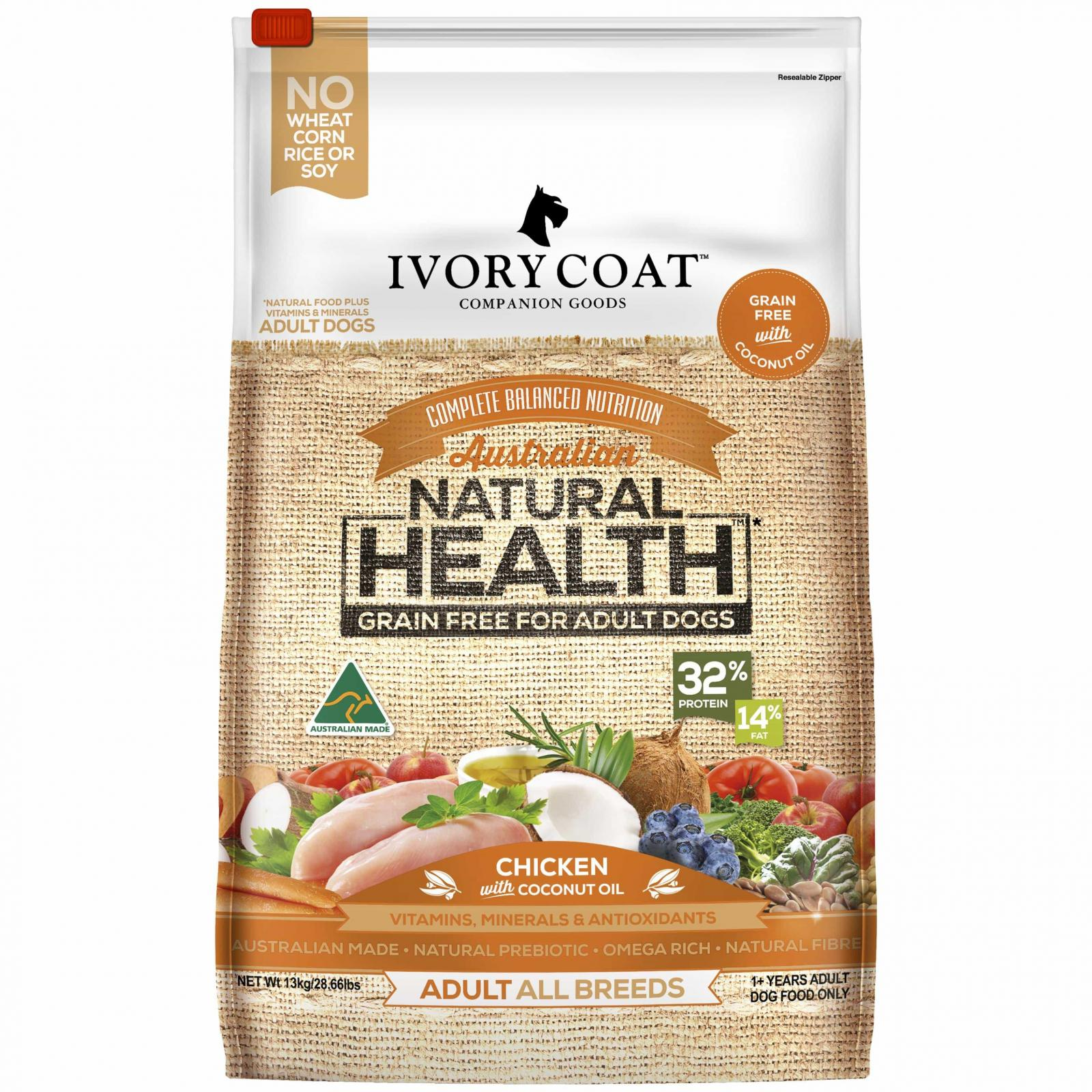 IVORY COAT Ivory Coat Chicken with Coconut Oil Dry Adult Dog Food