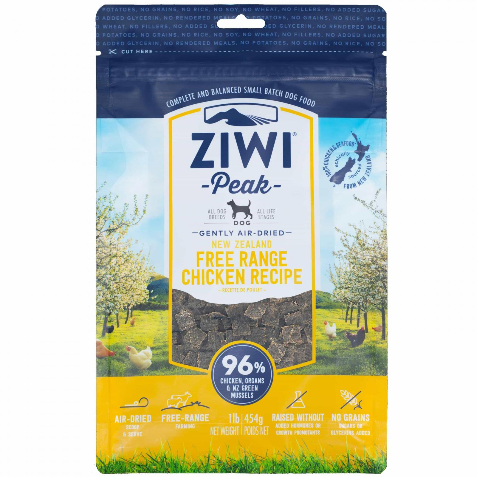 ZiwiPeak Ziwi Peak Daily Dog Cuisine Chicken Air Dried Dog Food