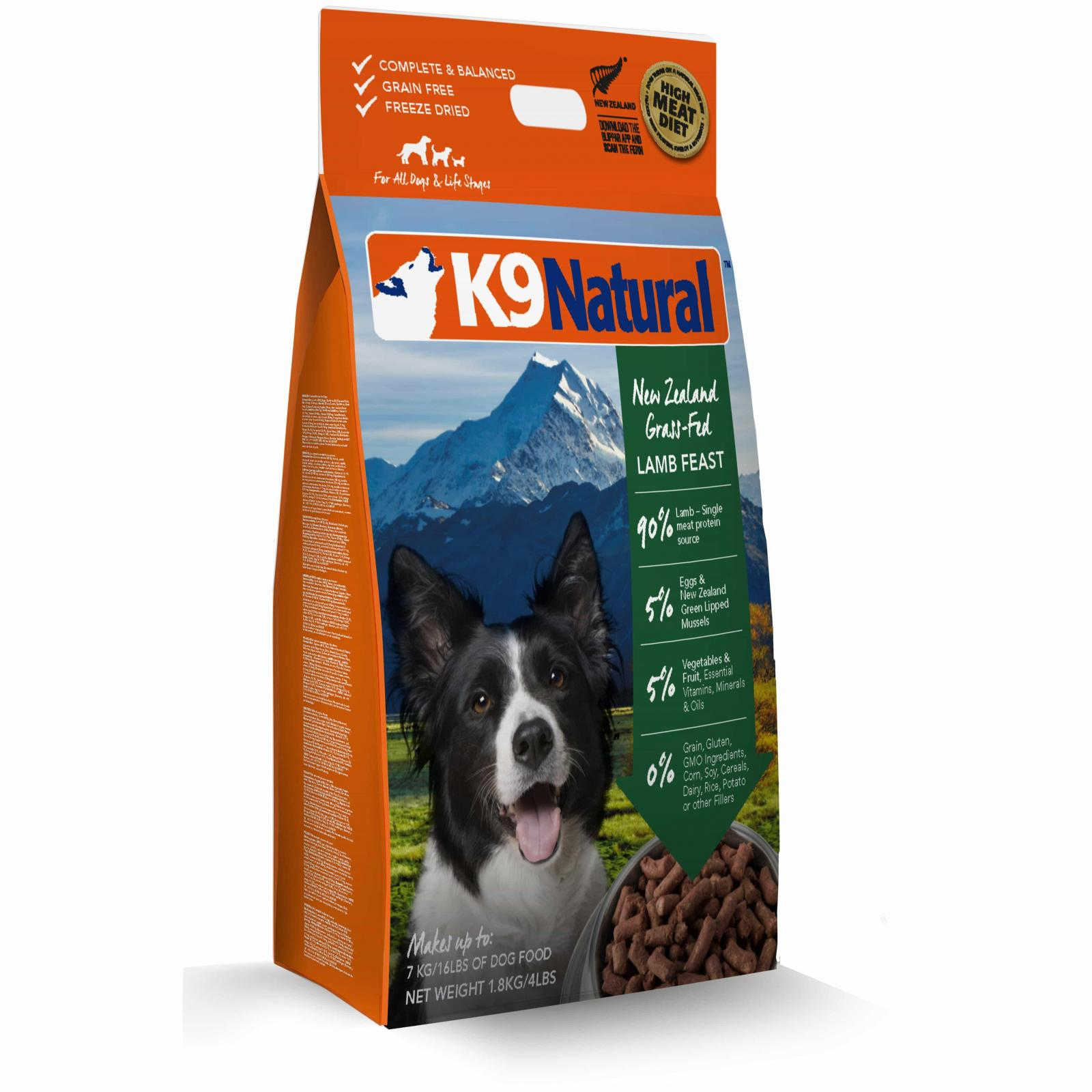 K9 Natural K9 Natural Lamb Feast Freeze Dried