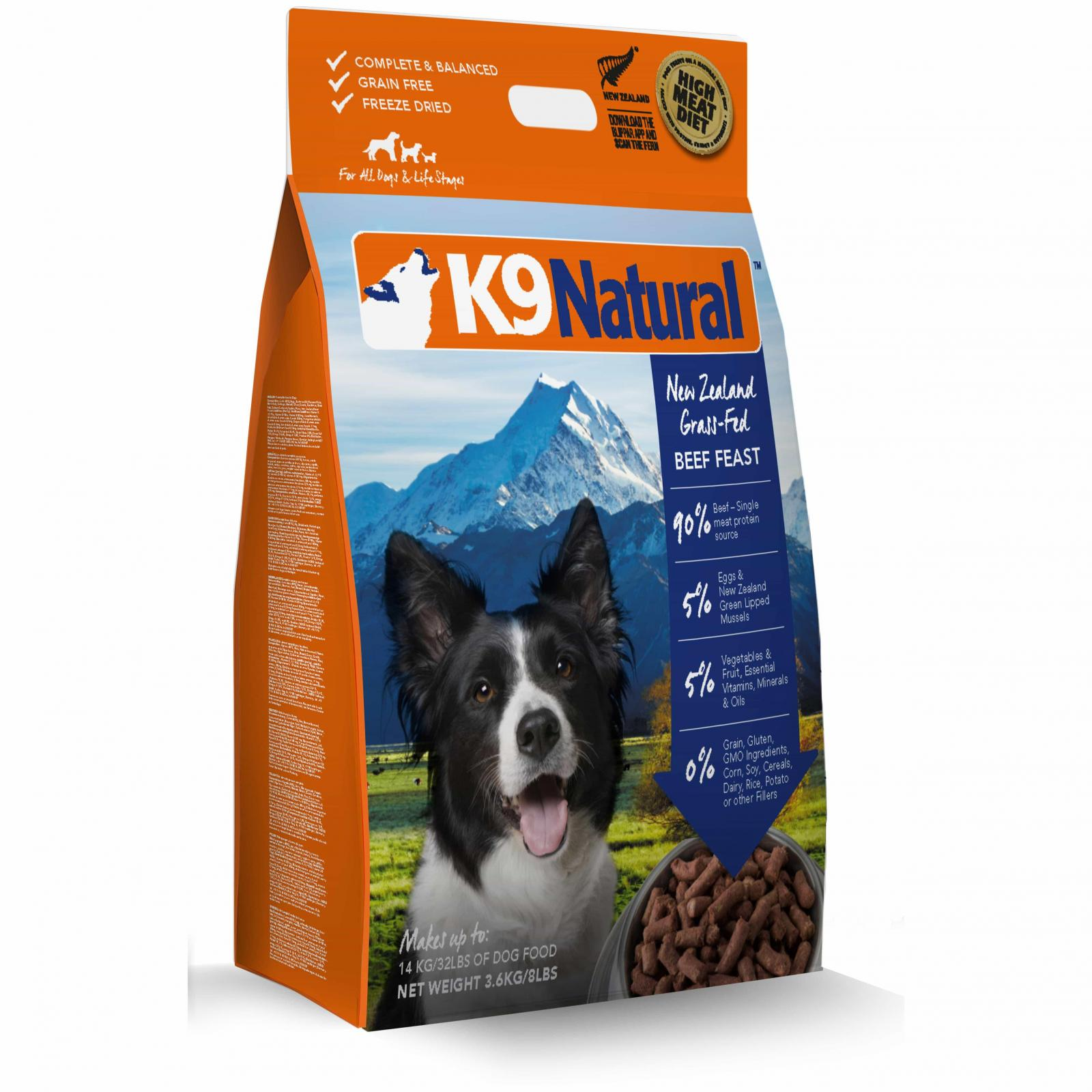 K9 Natural K9 Natural Beef Feast Freeze Dried