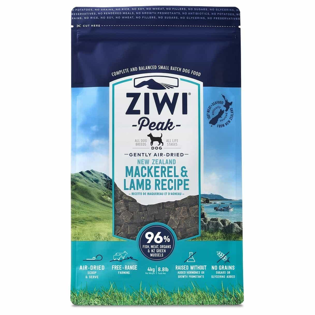 ZiwiPeak Ziwi Peak Air Dried Mackerel & Lamb Dog Food