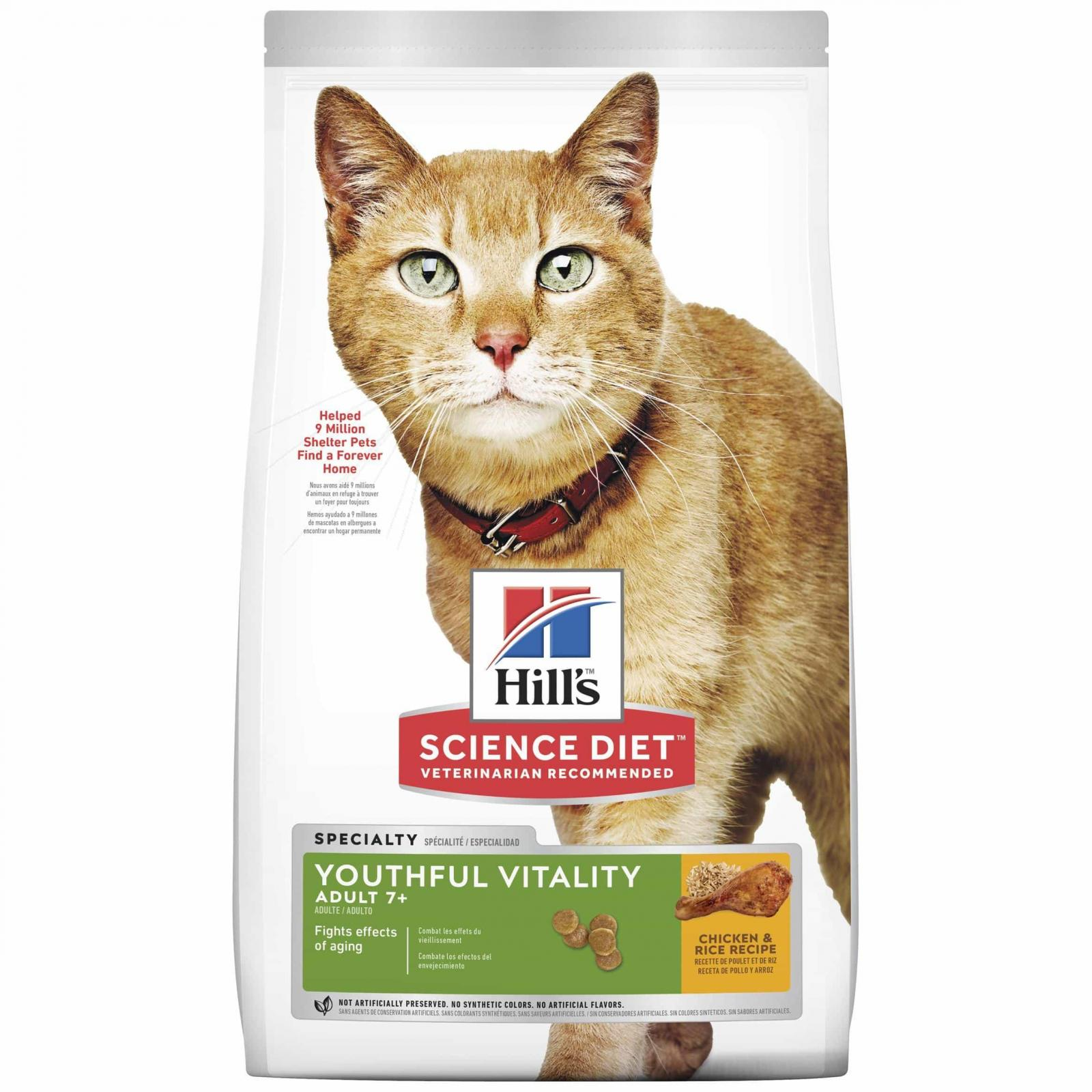 Hill's Hill's Science Diet Senior Cat Youthful Vitality 7+ Years