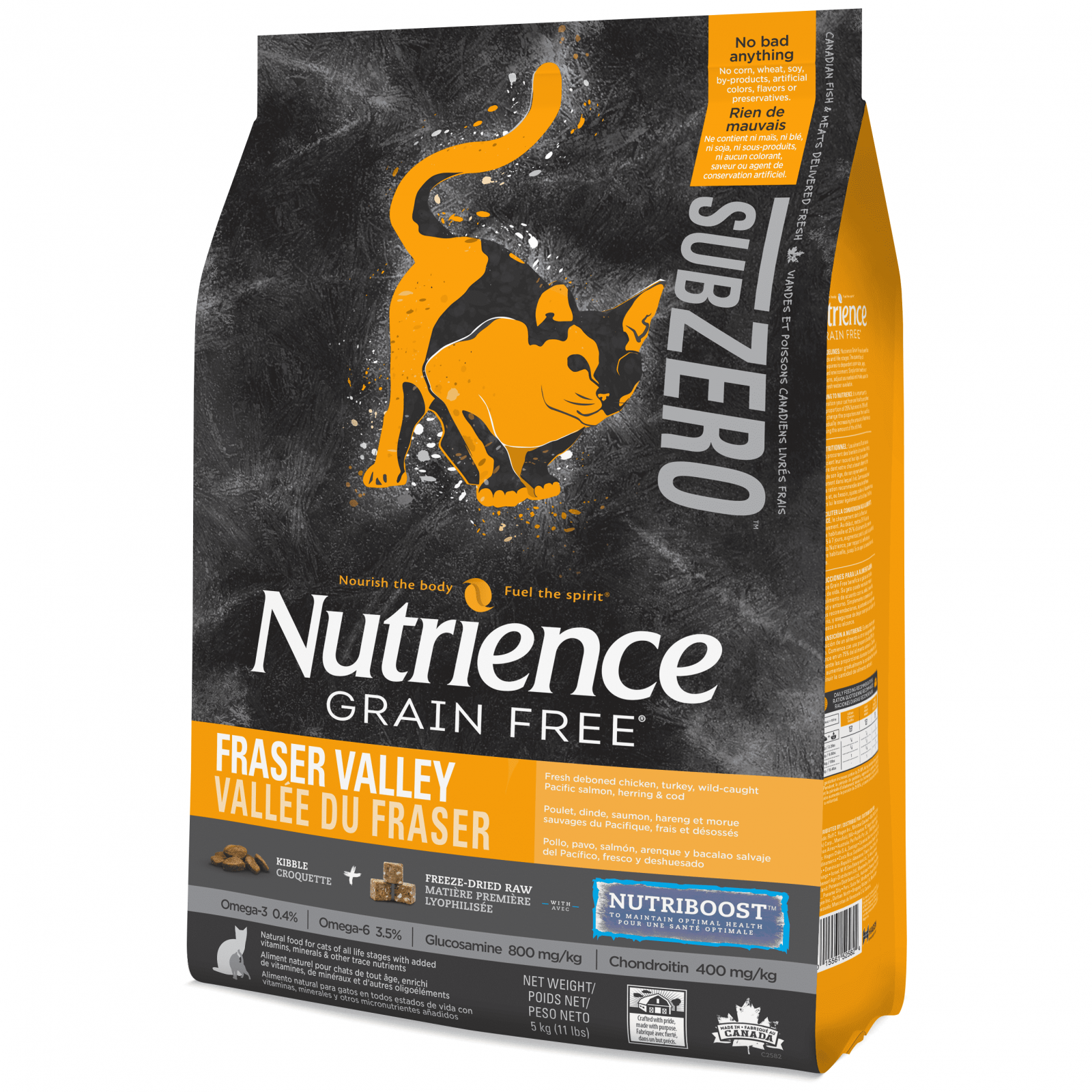 Nutrience Nutrience Subzero Fraser Valley Cat Food