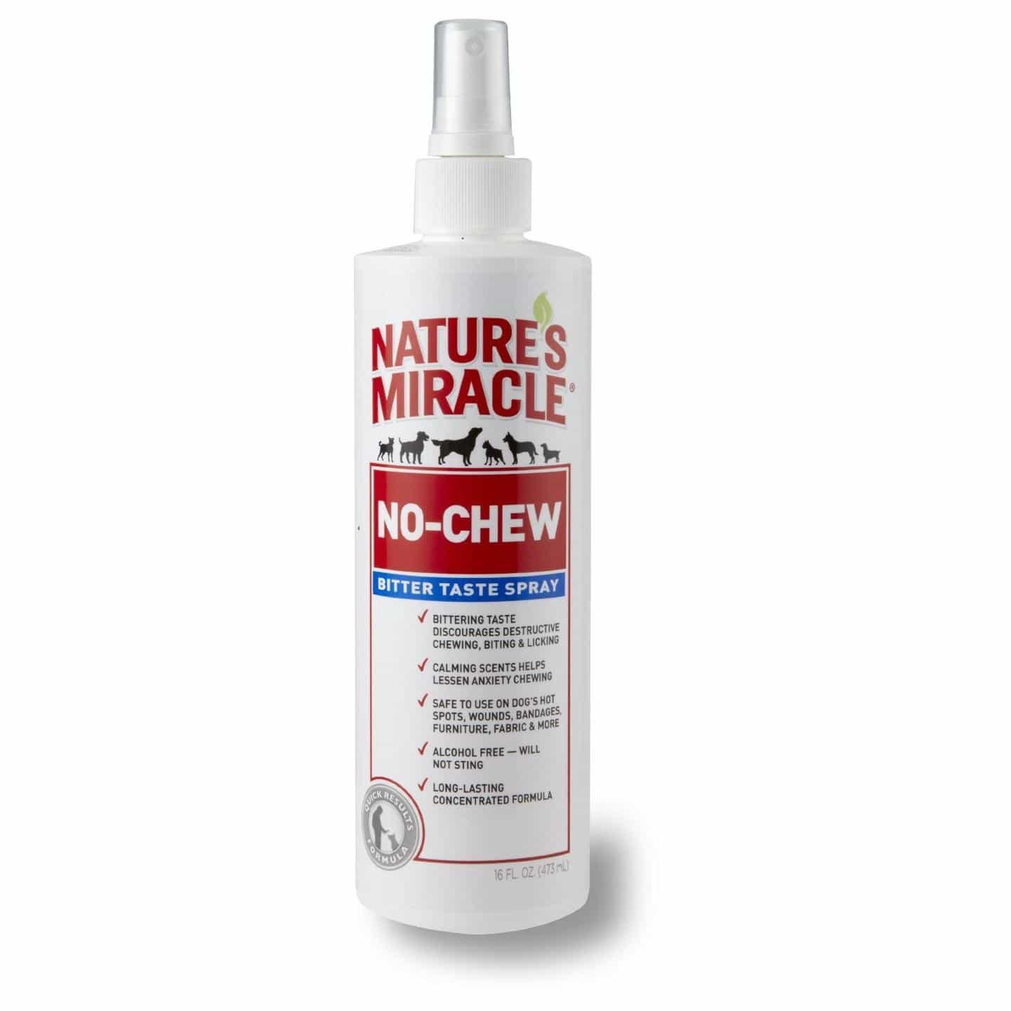 Natures Miracle Nature's Miracle No Chew Bitter Taste Spray 236ml