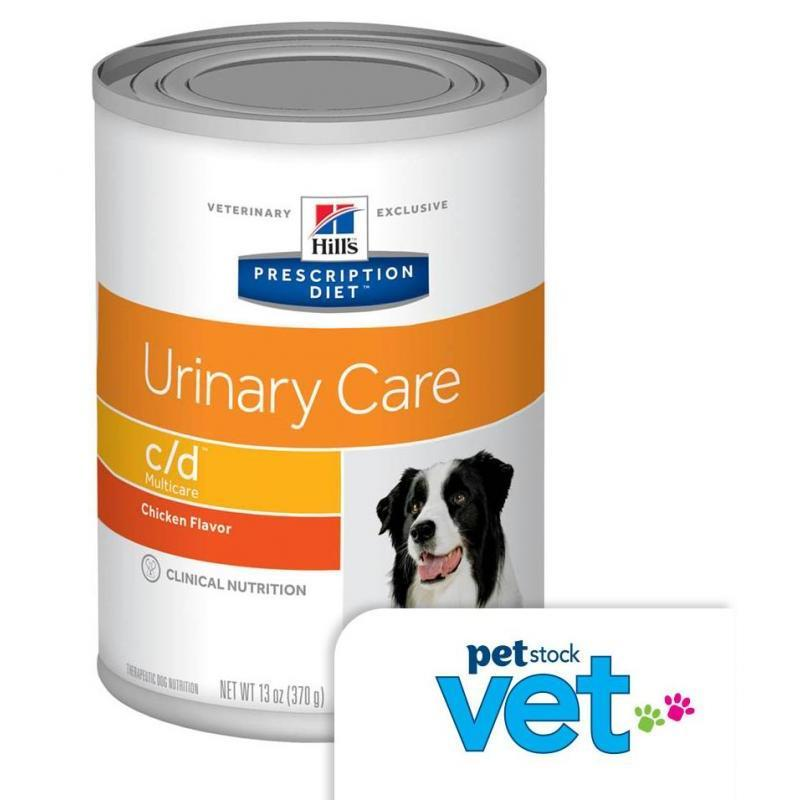 Hill's VET Hill's Prescription Diet Canine - C/D Urinary Care Wet Dog F