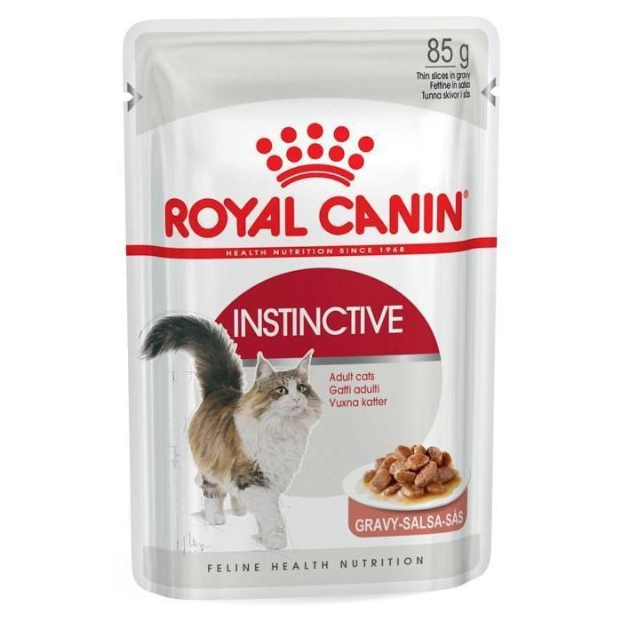 Royal Canin Royal Canin Cat Instinctive Adult Gravy Pouches