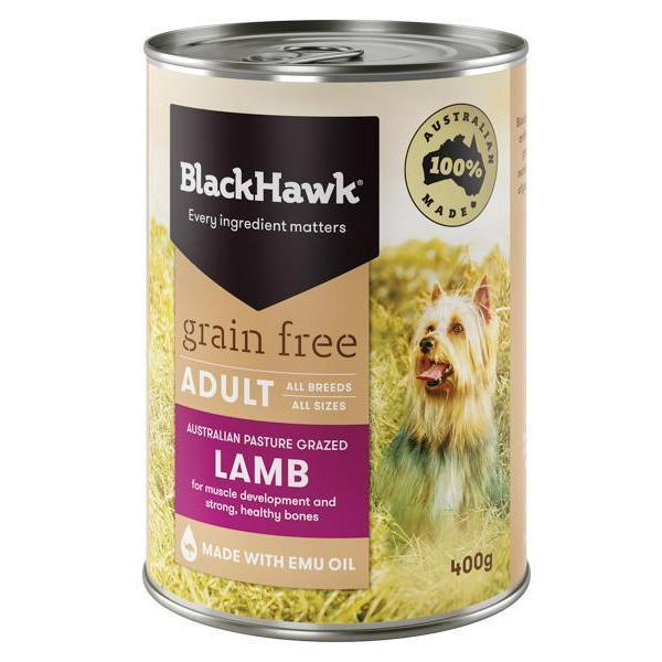 Black Hawk Black Hawk Dog Grain Free Lamb Can